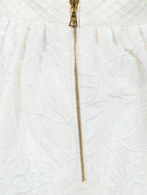 Юбка-макси из шелка с вышивкой - Деталь1