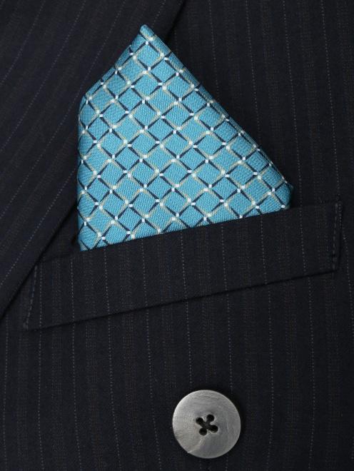Карманный платок из шелка с узором - МодельВерхНиз