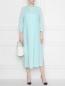 Платье прямого кроя из льна Marina Rinaldi  –  МодельОбщийВид