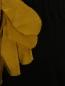 Комбинезон из хлопка с декоративным цветком Lanvin  –  Деталь