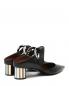 Мули на зеркальном каблуке с металлическим декором Proenza Schouler  –  Обтравка2