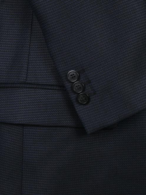 Пиджак из шерсти и шелка - Деталь