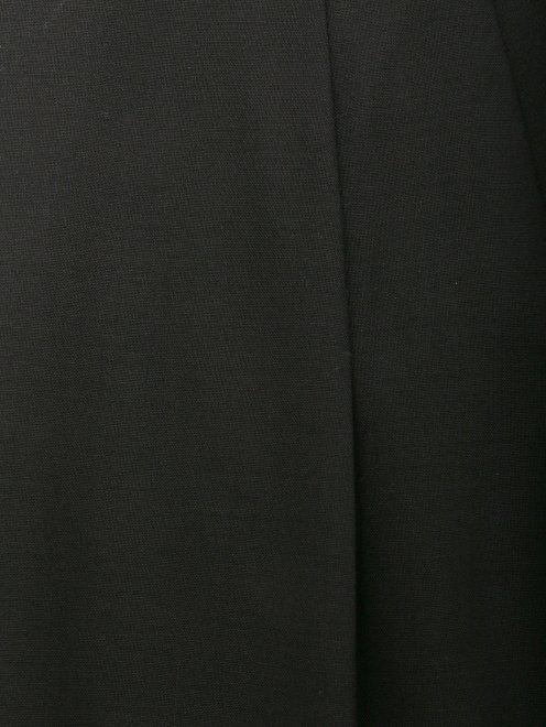 Юбка-миди из шерсти с карманами - Деталь1