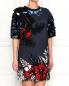 Платье с декором Aquilano Rimondi  –  Модель Верх-Низ