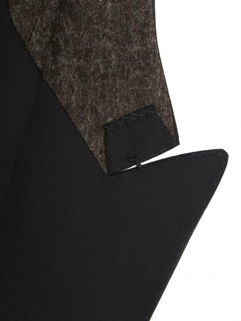 Пиджак двубортный из шерсти - Деталь1