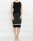 Платье-футляр с узором Giambattista Valli  –  Модель Общий вид