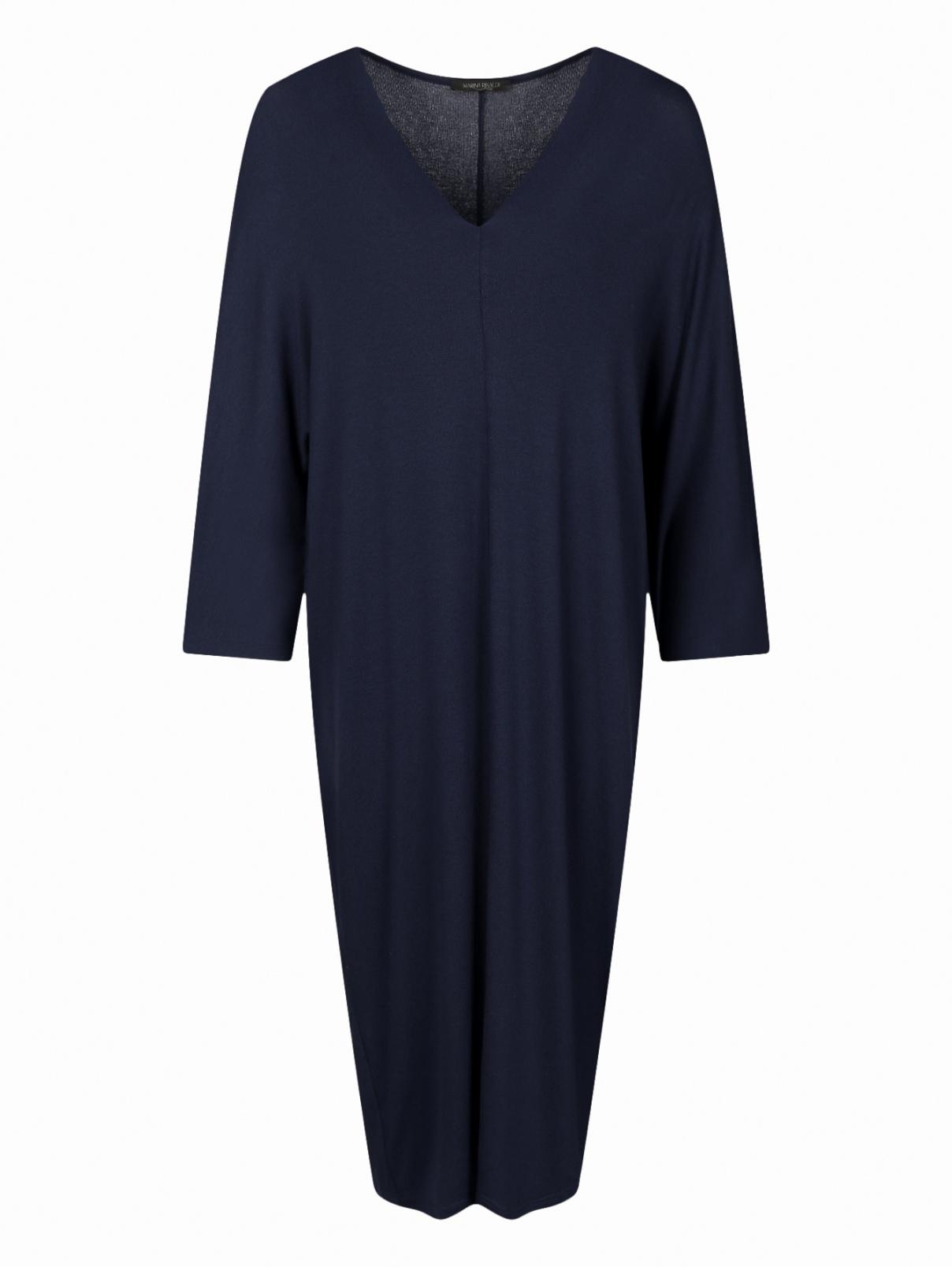 Трикотажное платье  прямого кроя Marina Rinaldi  –  Общий вид