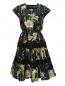 Платье-миди из хлопка с цветочным узором Jean Paul Gaultier  –  Общий вид
