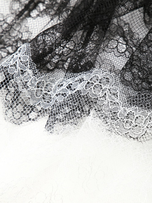 Платье-миди из кружева - Деталь1