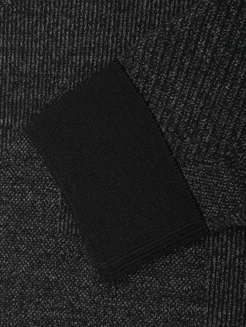 Джемпер из шерсти с круглым вырезом  - Деталь1