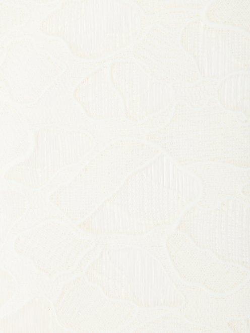 Полупрозрачная блуза свободного кроя - Деталь