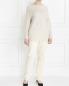 Джинсы прямого кроя с боковыми карманами Marina Sport  –  Модель Общий вид