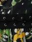 Платье-миди из хлопка с цветочным узором Jean Paul Gaultier  –  Деталь