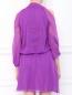Платье из шелка с открытыми плечами Alberta Ferretti  –  Модель Верх-Низ1