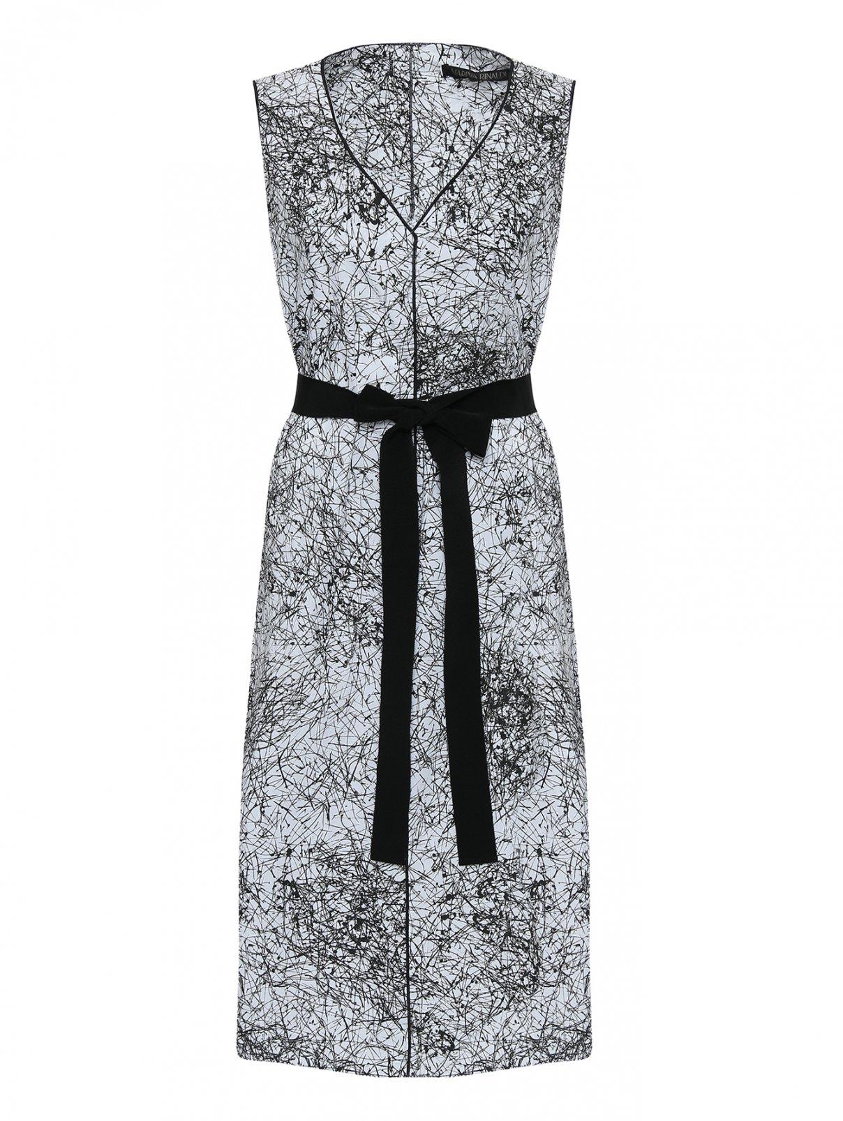 купить летнее платье прямого силуэта со скидкой