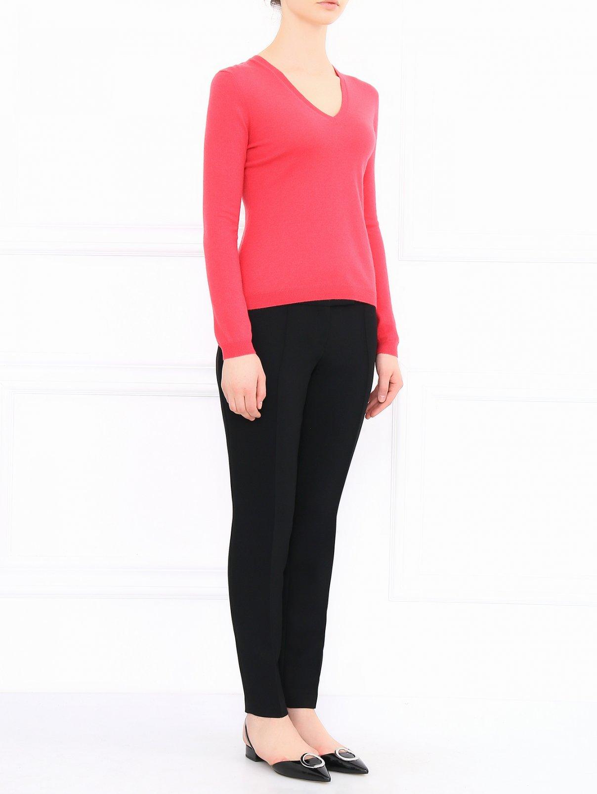 Укороченные брюки со стрелками Barbara Bui  –  Модель Общий вид