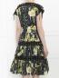 Платье-миди из хлопка с цветочным узором Jean Paul Gaultier  –  Модель Верх-Низ1