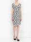 Платье свободного кроя с узором Max Mara  –  Модель Общий вид