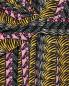 Трикотажное платье-мини из шелка с узором и запахом Issa London  –  Деталь1