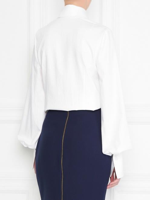 Рубашка из хлопка с манжетами - МодельВерхНиз1