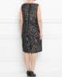 Платье с узором и боковыми карманами Voyage by Marina Rinaldi  –  Модель Верх-Низ1