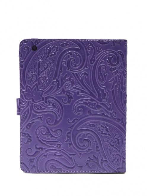Чехол для iPad из кожи с тиснением - Обтравка2