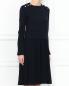 Платье-миди с декоративной отделкой Max&Co  –  МодельВерхНиз