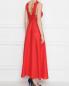 Платье льняное, с декором кружевом Ermanno Scervino  –  МодельВерхНиз1