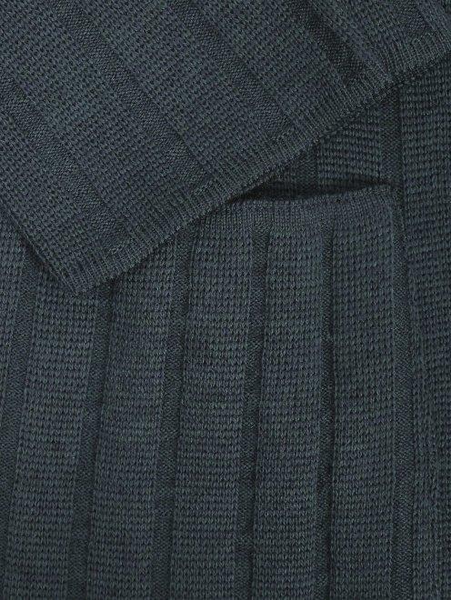 Пиджак двубортный из шерсти - Деталь