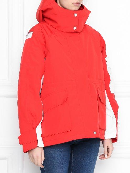 Куртка с капюшоном на молнии - МодельВерхНиз