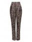 Шелковые брюки с узором Jean Paul Gaultier  –  Общий вид