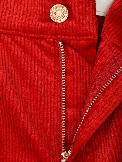 Вельветовые брюки  - Деталь1