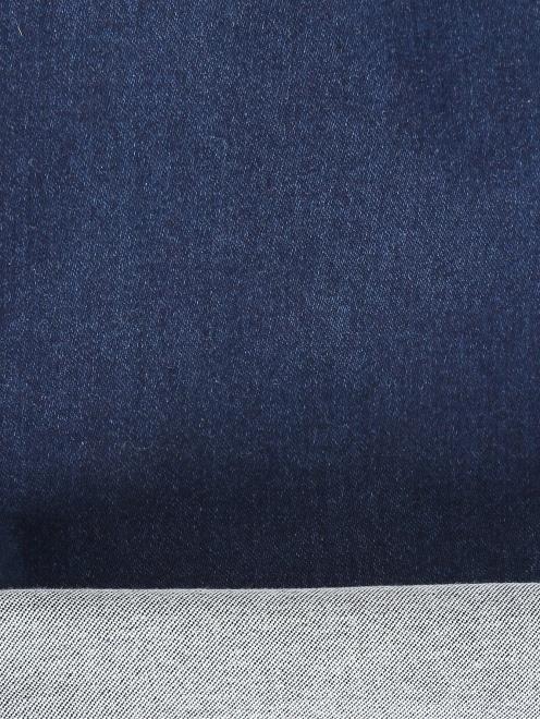 Укороченные джинсы - Деталь2