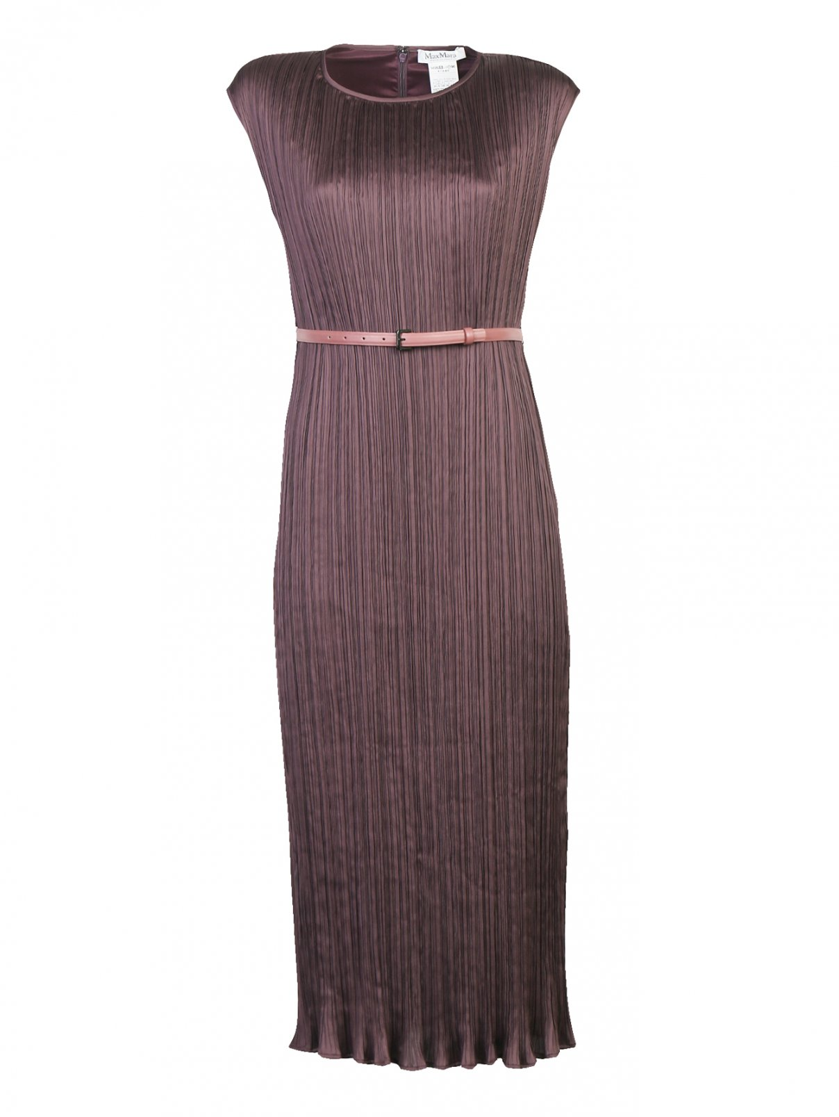 Платье-миди с поясом Max Mara  –  Общий вид