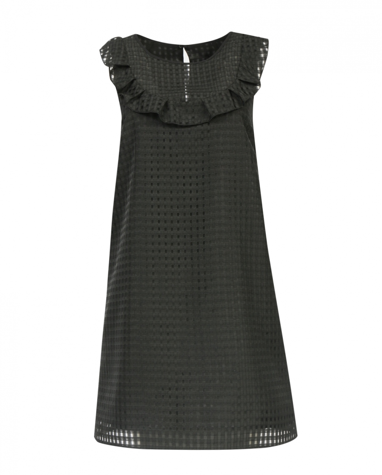 Платье-мини прямого кроя без рукавов Max&Co  –  Общий вид