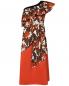 Платье хлопковое, с цветочным узором Marina Rinaldi  –  Общий вид
