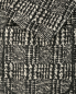 Пиджак из шерсти и хлопка  узором Emporio Armani  –  Деталь
