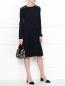 Платье-миди с декоративной отделкой Max&Co  –  МодельОбщийВид