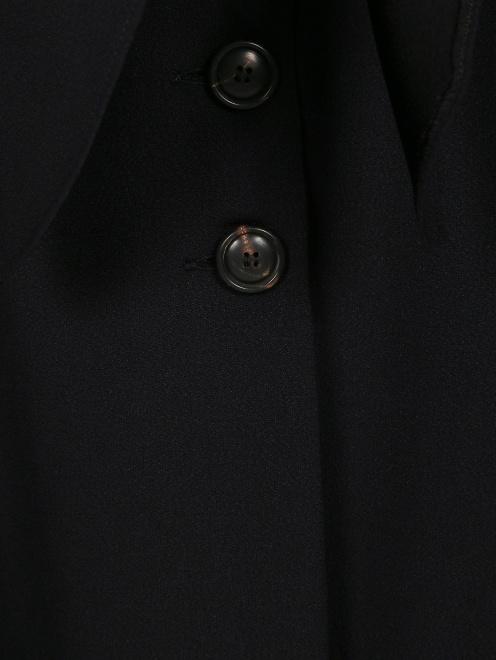 Блуза с длинными рукавами и драпировкой - Деталь1