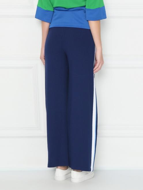Трикотажные брюки на резинке - МодельВерхНиз1