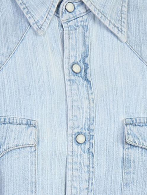 Рубашка из хлопка на кнопках - Деталь