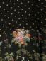 Легкое пальто из шелка с цветочным узором Alberto Biani  –  Деталь