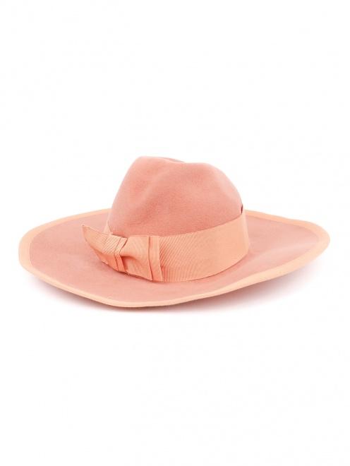 Шляпа с широкими полями и декоративной отделкой  - Обтравка2