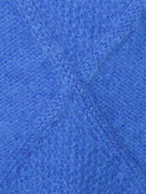 Удлиненный свитер из шерсти - Деталь