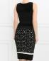 Платье-футляр с узором Giambattista Valli  –  Модель Верх-Низ1
