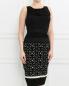 Платье-футляр с узором Giambattista Valli  –  Модель Верх-Низ