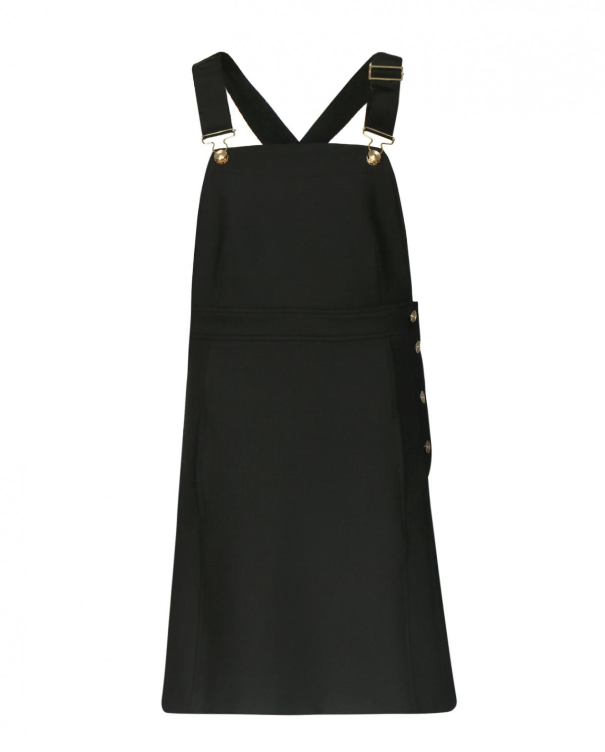 Платье из шерсти на лямках Tara Jarmon  –  Общий вид