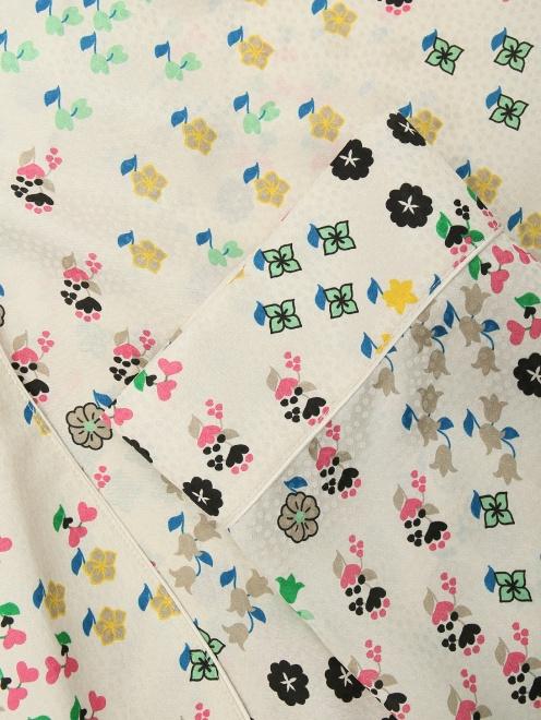 Жакет из смесового шелка в пижамном стиле - Деталь