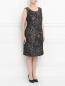 Платье с узором и боковыми карманами Voyage by Marina Rinaldi  –  Модель Верх-Низ