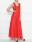 Платье льняное, с декором кружевом Ermanno Scervino  –  МодельОбщийВид